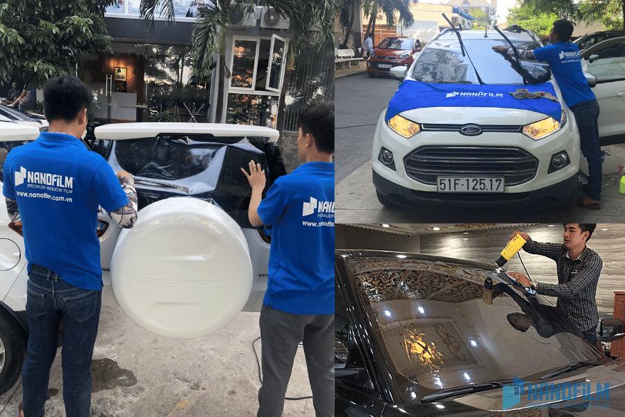 dán phim cách nhiệt ô tô tại An Giang