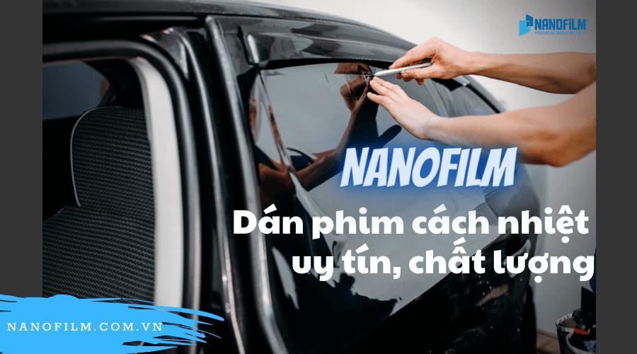 Nanofilm - dán kính cách nhiệt sườn xe ô tô uy tín, chất lượng