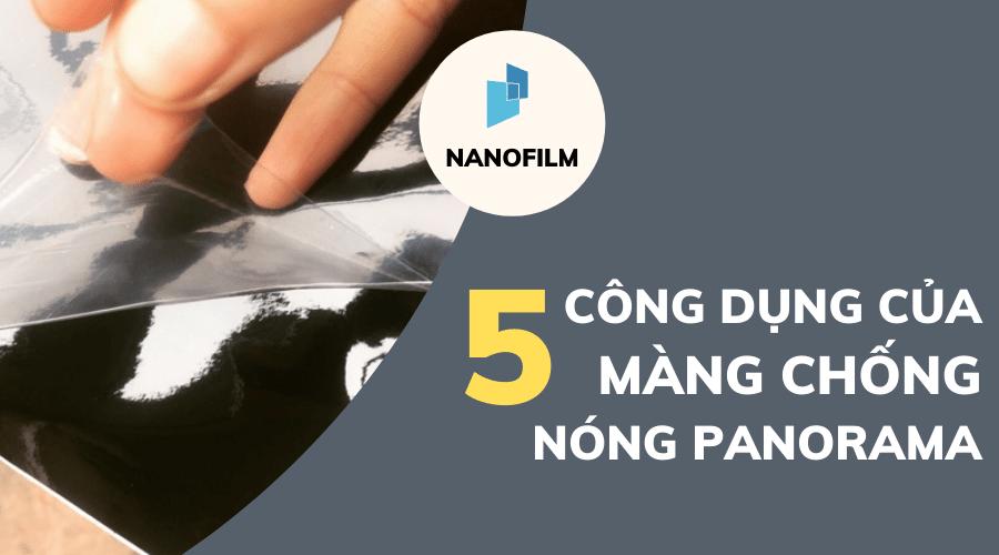 5 công dụng của màng chống nóng Panorama
