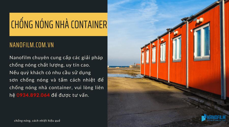 Phương Án Chống NóngNhà Container Tiết Kiệm Chi Phí