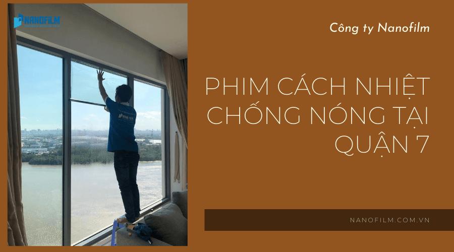 Film Cách Nhiệt Chống Nóng Tại Quận 7 Tp Hồ Chí Minh