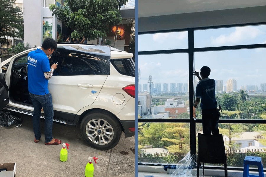 phim cách nhiệt quận Phú Nhuận