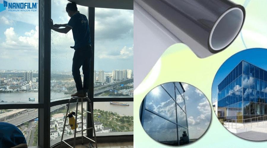 Phim cách nhiệt Nano chống nóng khách sạn