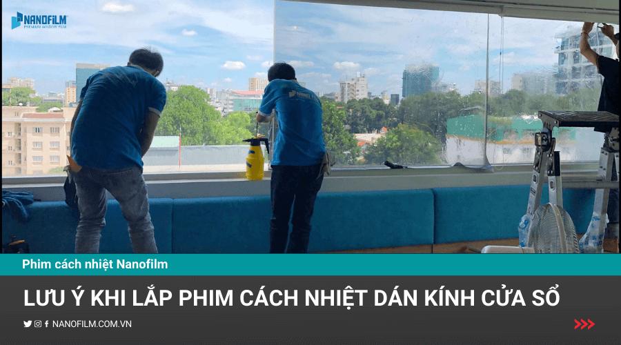 phim cách nhiệt dán kính cửa sổ