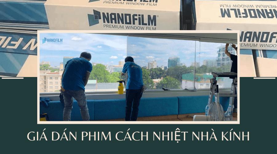 Thi công dán phim cách nhiệt nhà kính tòa nhà có tốn kém?