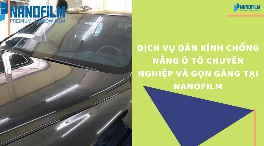 Dịch vụ dán kính chống nóng ô tô chất lượng và uy tín