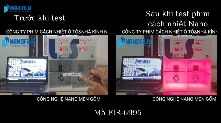 Phim cách nhiệt Nano mã FIR-6995