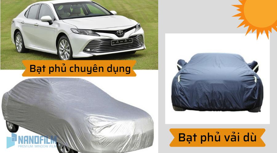 bạt phủ chống nắng ô tô