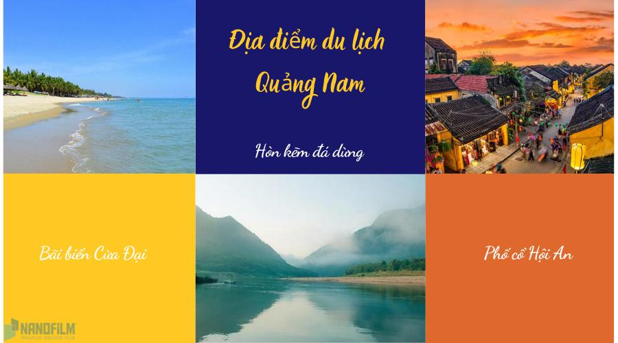 Các địa điểm du lịch Quảng Nam