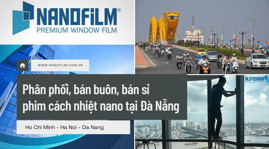 Phân phối, bán buôn, bán sỉ phim cách nhiệt nano tại Đà Nẵng