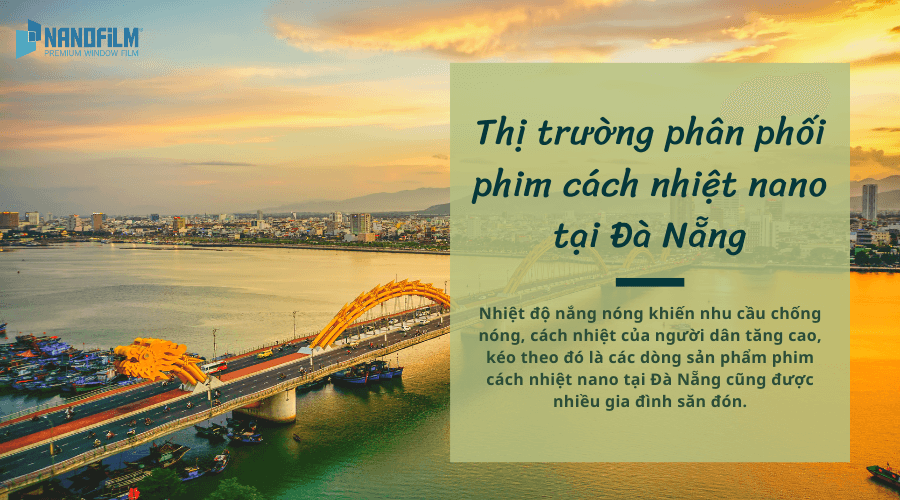 Thị trường phân phối phim cách nhiệt nano tại Đà Nẵng
