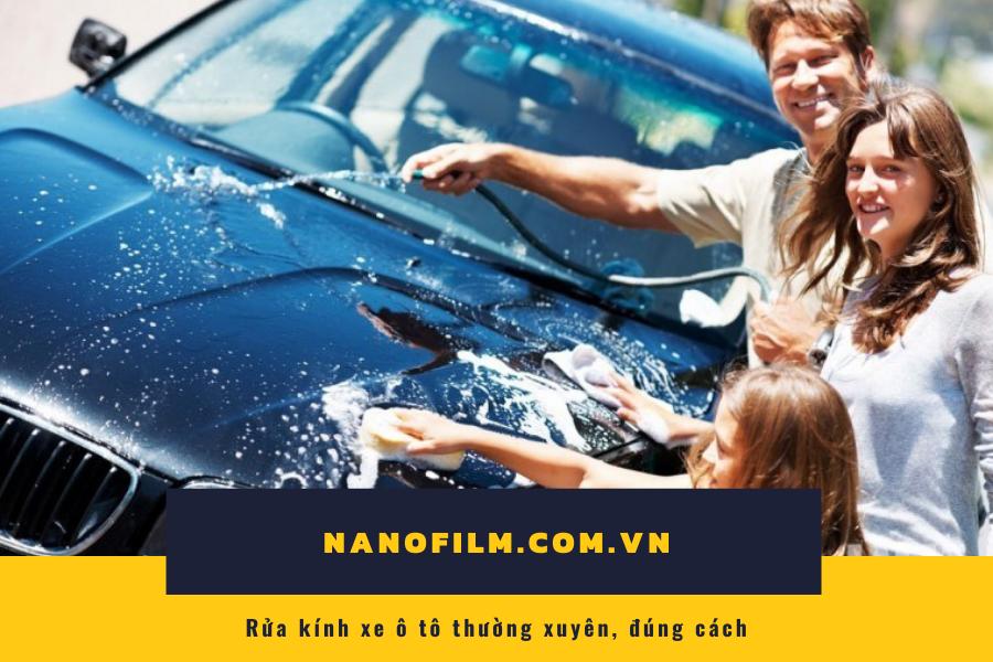 Những điều cần tránh khi rửa xe ô tô