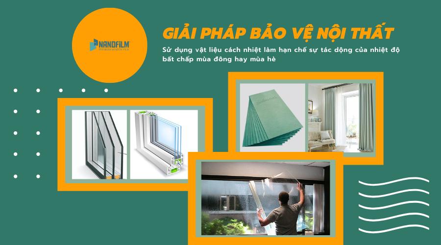 Giải pháp bảo vệ nội thất nhà kính