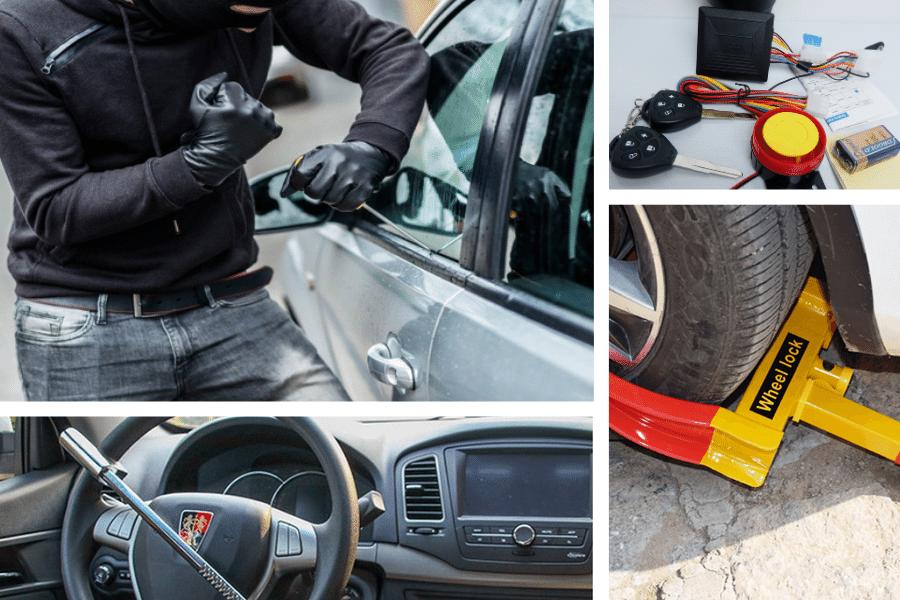 chống trộm xe ô tô