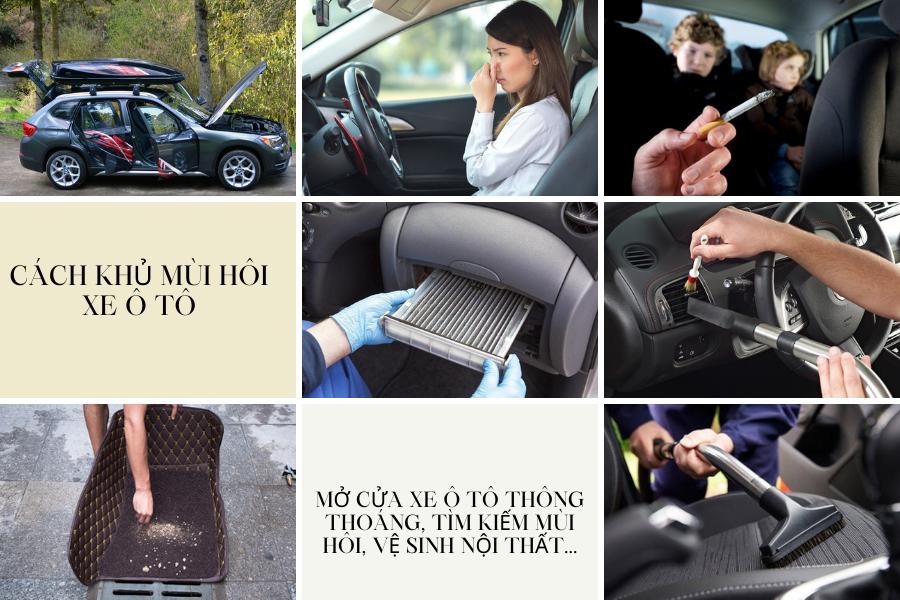 khử mùi nội thất ô tô