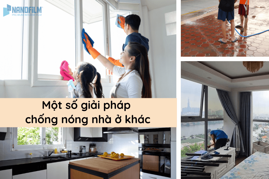 Một số giải pháp chống nóng nhà ở khác