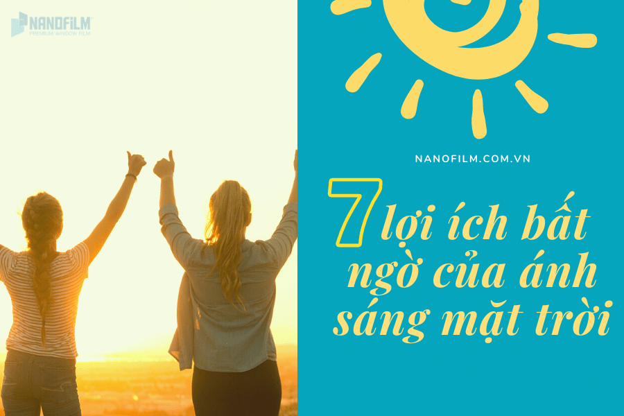 lợi ích của ánh sáng mặt trời