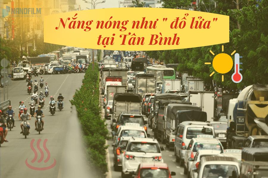 dán kinh chống nắng ô tô tại Tân Bình
