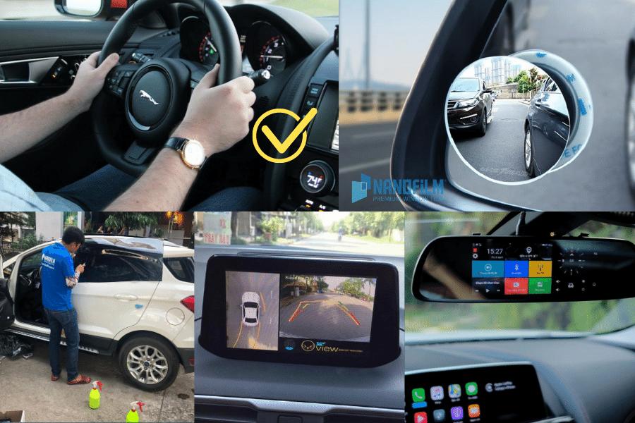 các trang bị cần thiết giúp lái xe an toàn