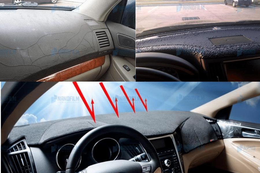 chống nắng nóng taplo ô tô