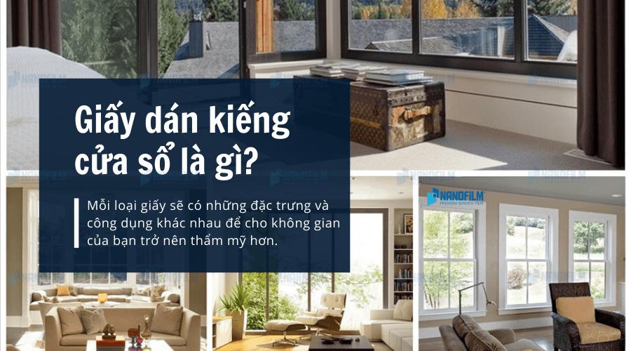 Giấy dán kiếng cửa sổ là gì?