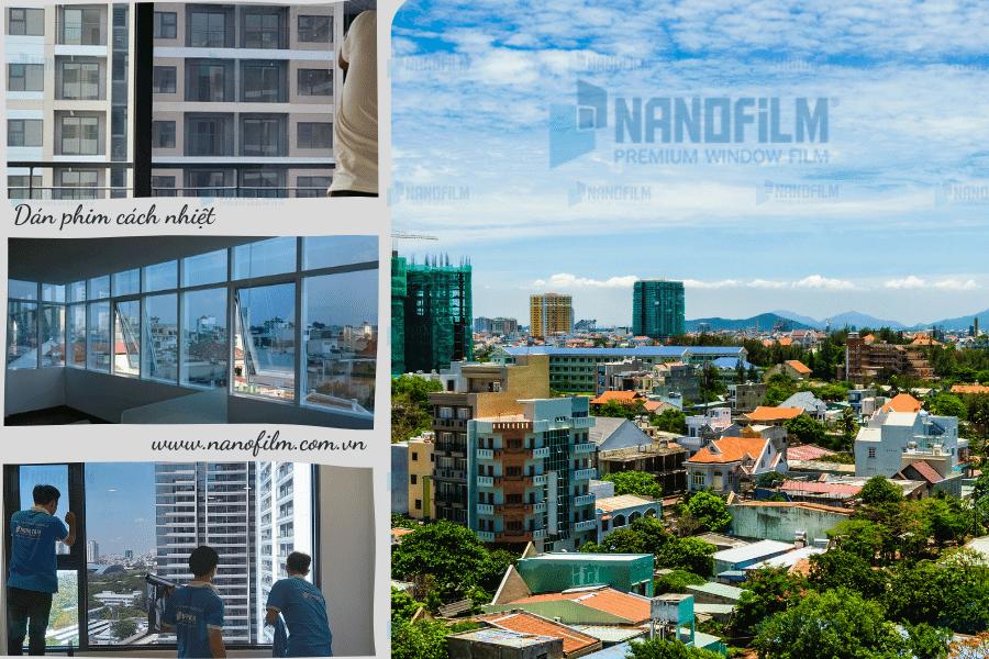 Nanofilm chuyên dán phim cách nhiệt chung cư tại Vũng Tàu