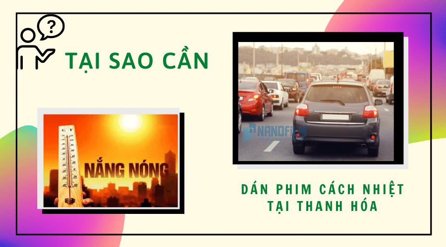 Dán phim cách nhiệt tại Thanh Hóa