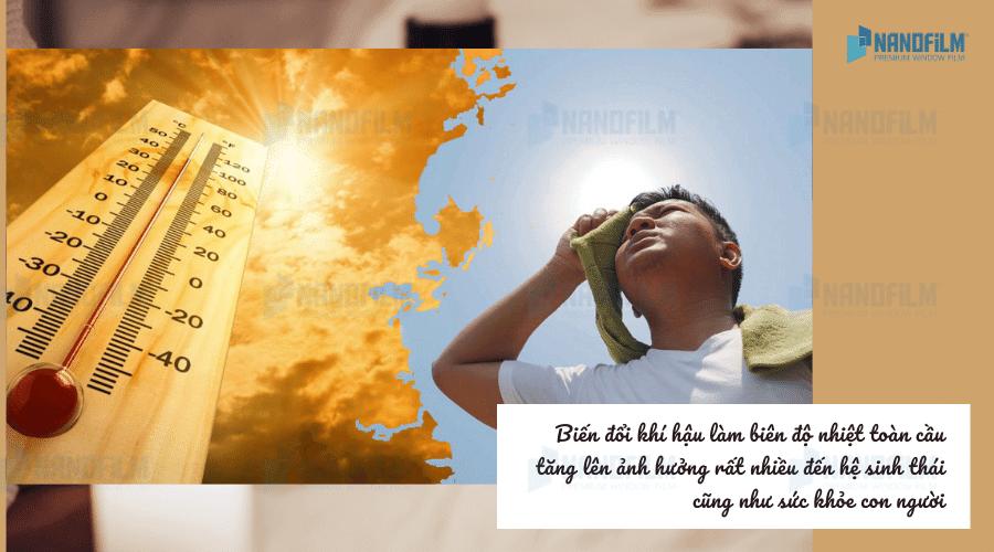 Những hệ luỵ sức khoẻ và cách phòng tránh khi thời tiết nắng nóng