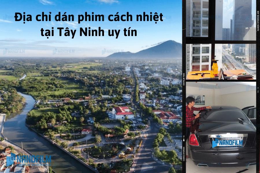 Địa chỉ dán phim cách nhiệt tại Tây Ninh uy tín