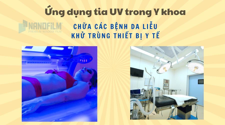 Ứng dụng của tia UV trong y khoa
