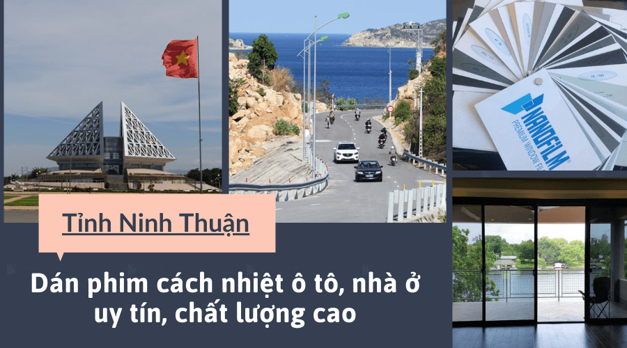 Dán phim cách nhiệt tại Ninh Thuận
