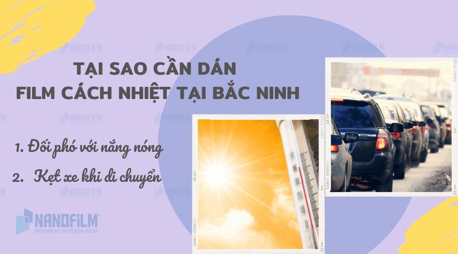 Tại sao cần dán phim cách nhiệt tại Bắc Ninh?