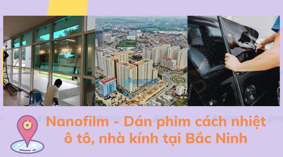Đơn vị dán phim cách nhiệt chống nóng tại Bắc Ninh