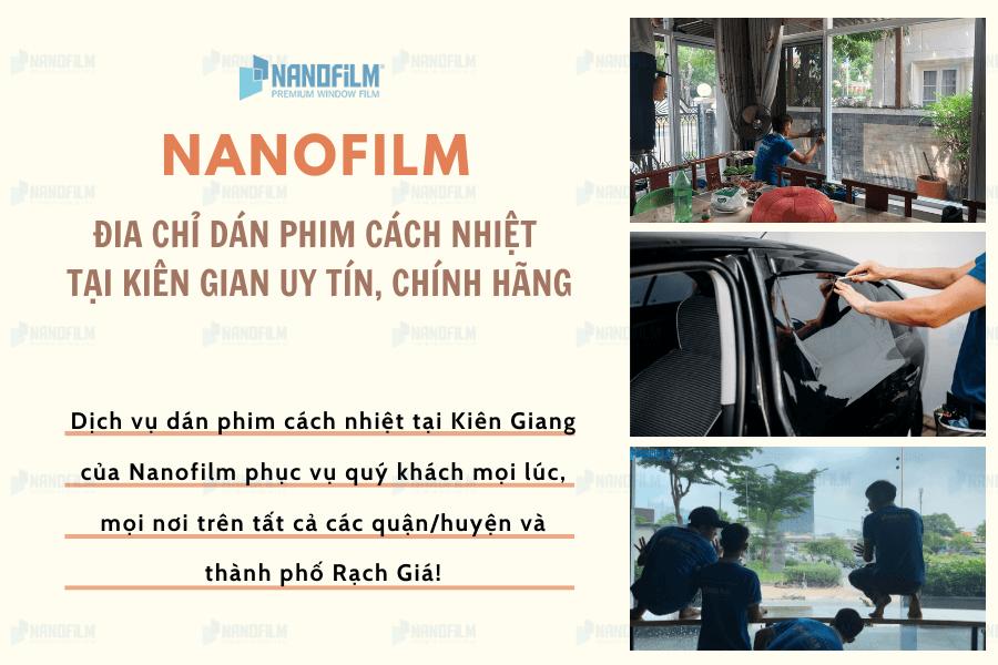 Địa điểm dán phim cách nhiệt tại Kiên Giang chất lượng
