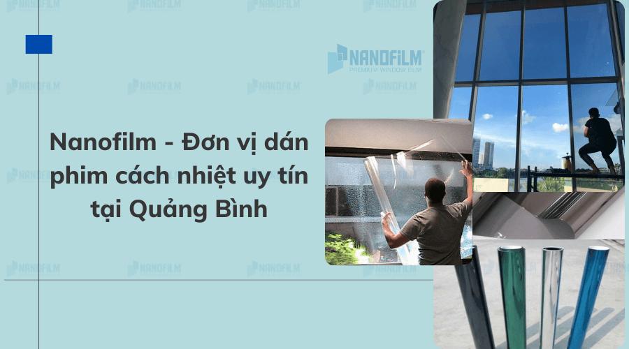 Đơn vị dán phim cách nhiệt tại Quảng Bình uy tín
