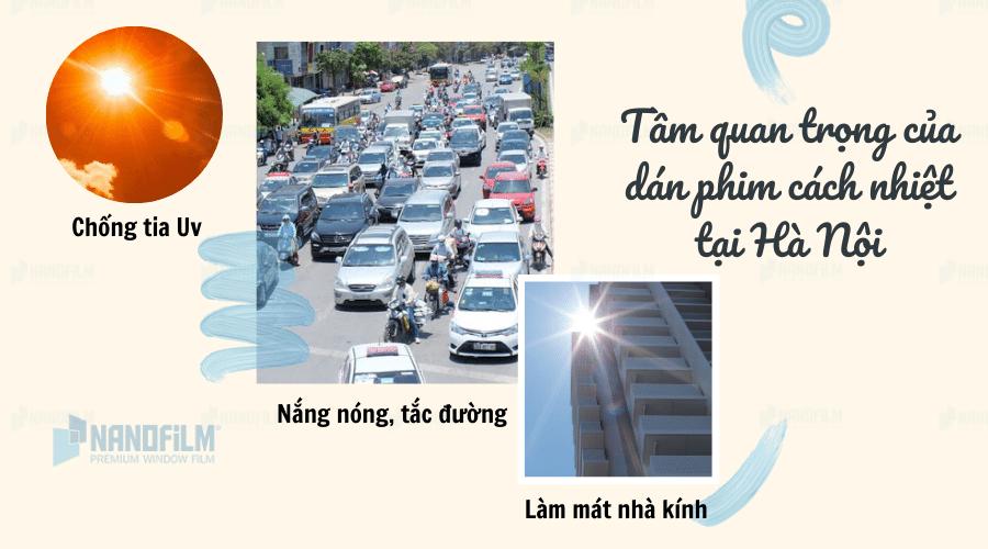 Tầm quan trọng của dán phim cách nhiệt nhà kính, ô tô tại Hà Nội
