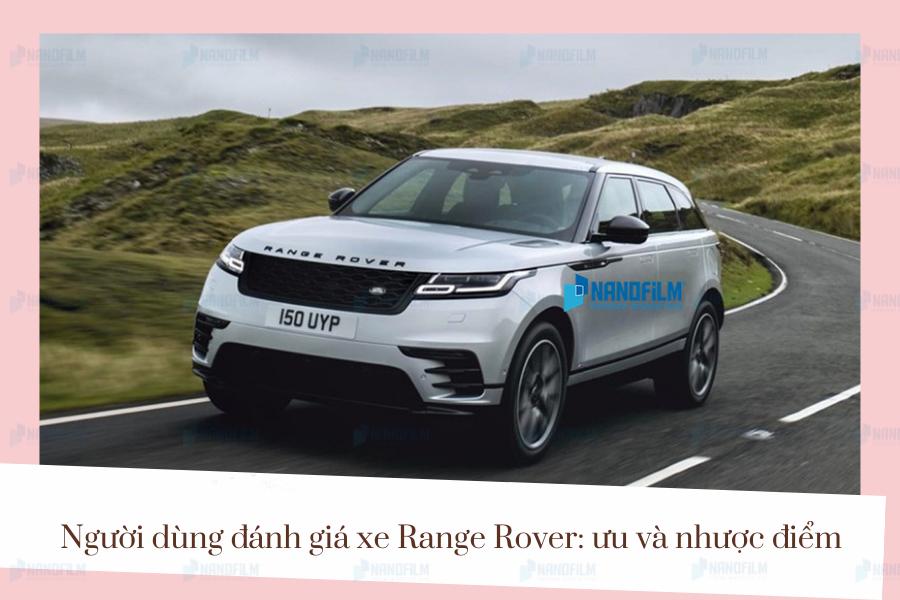 đánh giá xe range rover