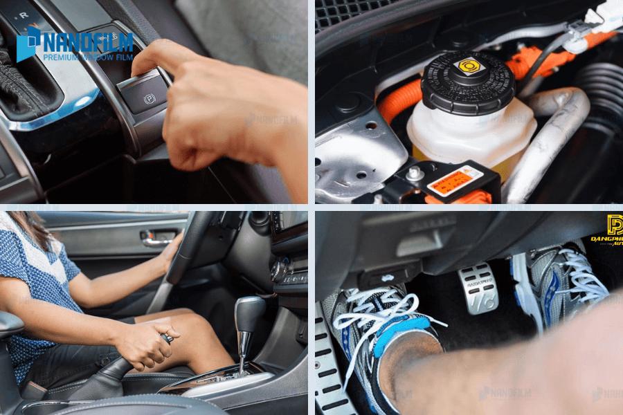 Nguyên tắc bảo dưỡng các bộ phận điều khiển xe ô tô an toàn