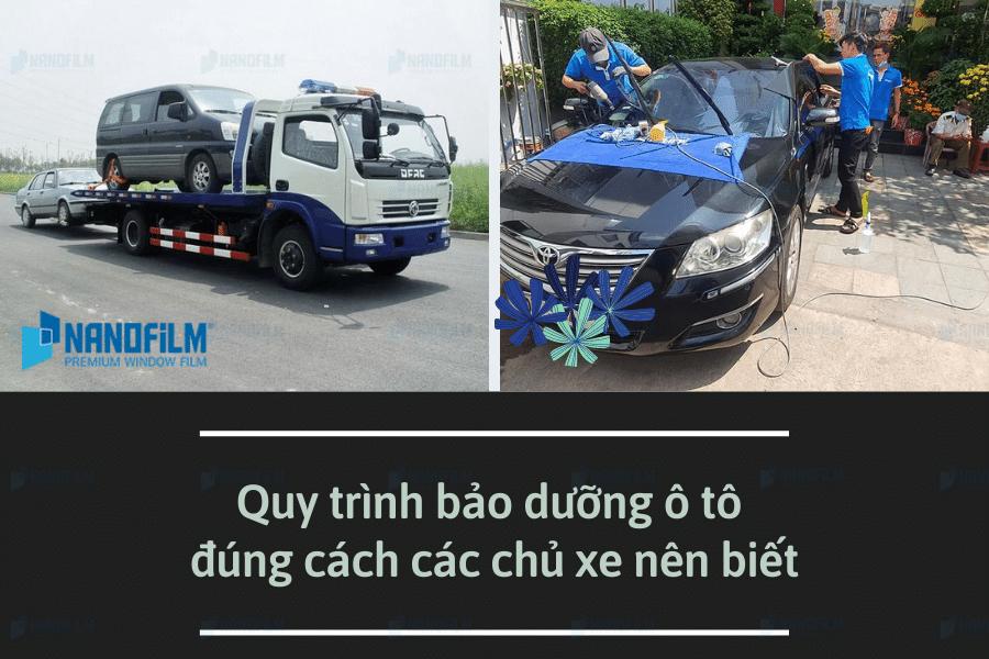 Quy trình bảo dưỡng ô tô đúng cách mà các chủ xe nên biết