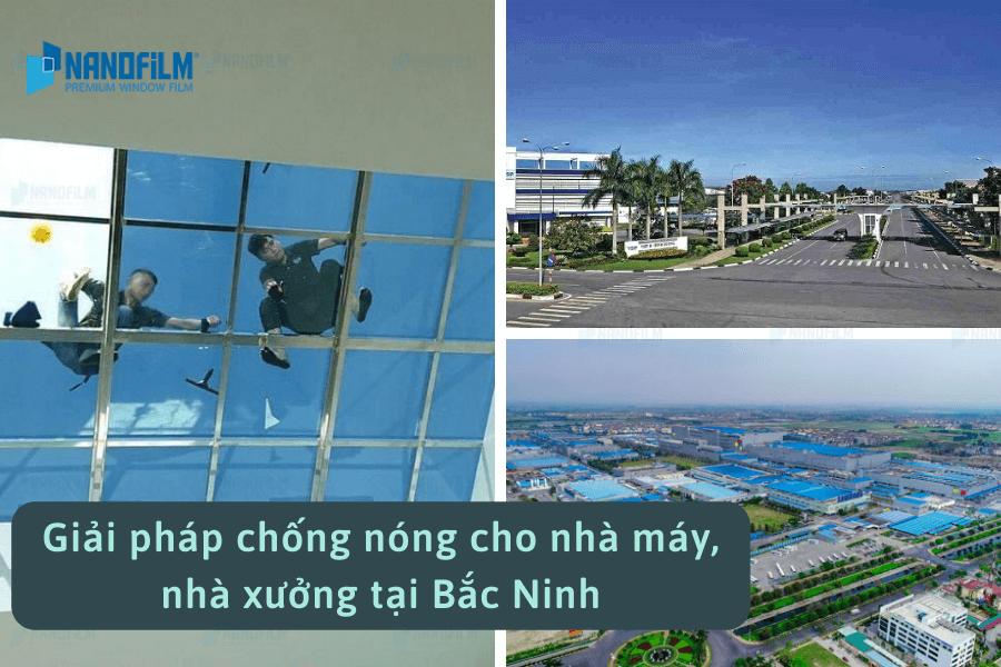 Giải pháp chống nóng cho nhà máy, nhà xưởng tại Bắc Ninh