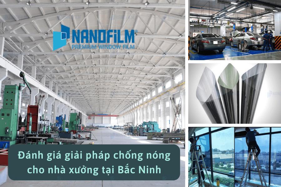 Đánh giá giải pháp chống nóng cho nhà xưởng tại Bắc Ninh