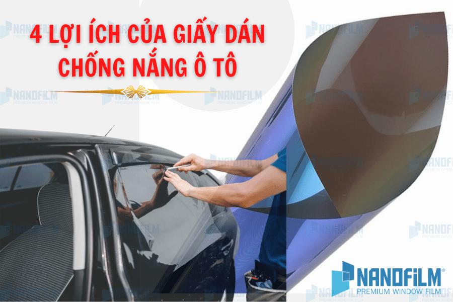 Khi lựa chọn giấy dán kính chống nắng ô tô cần chú ý những gì?
