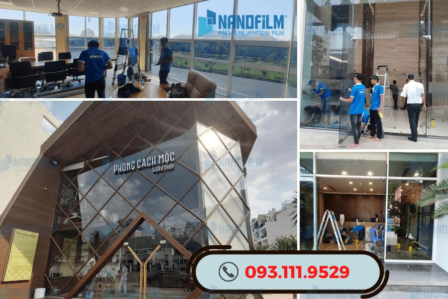 Nanofilm - Dán phim cách nhiệt showroom, trung tâm thương mại, phòng hội nghị