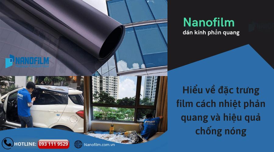 Hiểu về đặc trưng film cách nhiệt phản quang và hiệu quả chống nóng