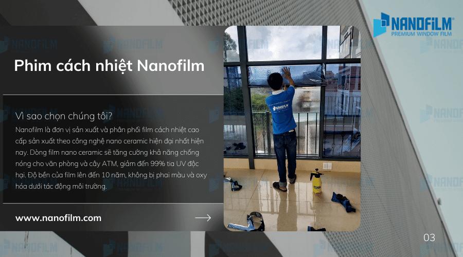 Dịch vụ dán kính phản quang uy tín chất lượng tại Nanofilm