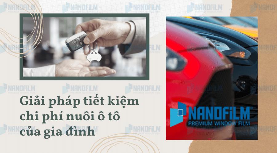 Giải pháp tiết kiệm chi phí nuôi ô tô của gia đình