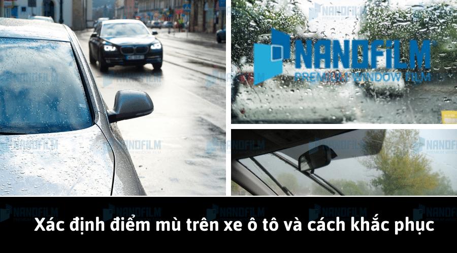 Xác định điểm mù trên xe ô tô và cách khắc phục hiệu quả