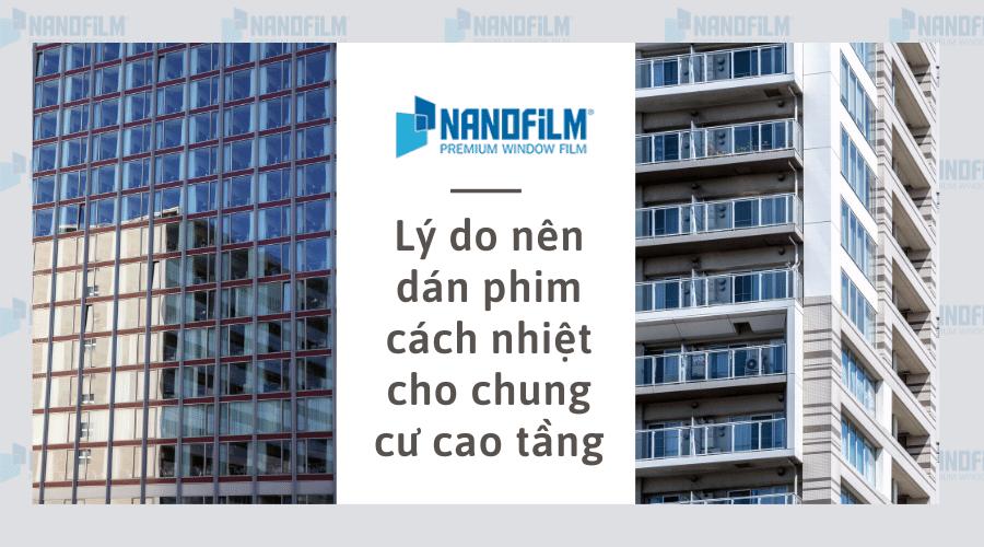 Lý do nên dán phim cách nhiệt cho chung cư cao tầng