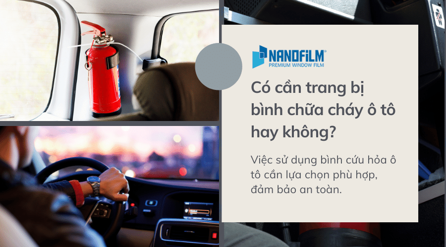 Có cần trang bị bình chữa cháy ô tô hay không?