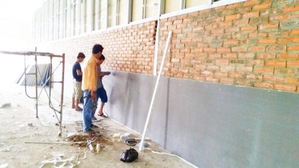 cách nhiệt vách tường